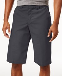 Dickies Men's Flex Relaxed Fit Twill Work Shorts Charcoal