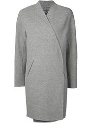 Rag And Bone Rag And Bone Open Front Coat Grey