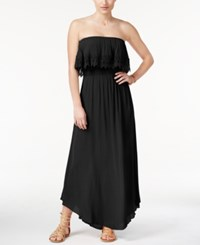 American Rag Strapless Popover Maxi Dress Only At Macy's Black