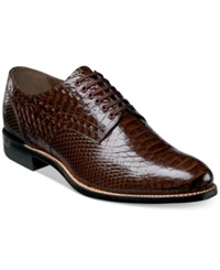 Stacy Adams Shoes Madison Oxfords Men's Shoes Brown