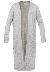 Vero Moda Vmfrancie Copenhagen Cardigan Light Grey Melange Moonbeam Mottled Light Grey