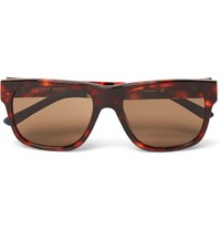 Orlebar Brown Square Frame Acetate Sunglasses Brown