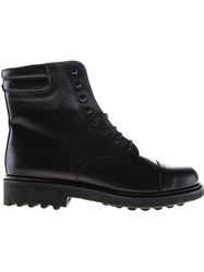 Robert Clergerie Lace Up Military Boots Black