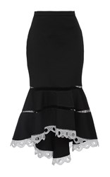 Alexis Francesca Midi Skirt Black