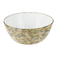 Missoni Home Cordonetto Large Serving Bowl Yellow