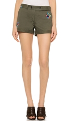 Thakoon Embroidered Shorts
