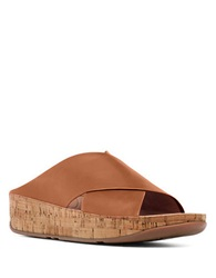 Fitflop Kys Tm Wedge Sandals Tan