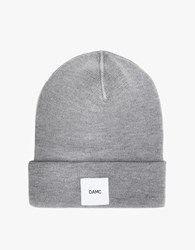 Oamc Watch Cap In Heather Grey