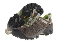 Keen Voyageur Neutral Gray Lime Green Women's Shoes Brown