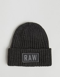 G Star Raw Beanie Black