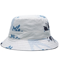 Norse Projects Reversable Flower Bucket Hat Navy