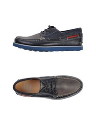 Barracuda Moccasins Dark Blue