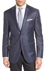 Men's Peter Millar Classic Fit Check Wool Sport Coat