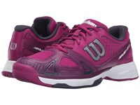 Wilson Rush Evo Pink Dark Plumberry Coal Women's Tennis Shoes