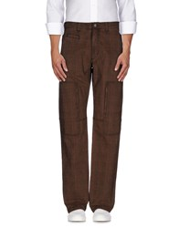 Trussardi Jeans Trousers Casual Trousers Men Brown