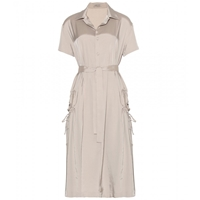 Bottega Veneta Shirt Dress Sand