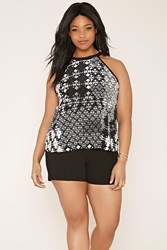 Forever 21 Plus Size Geo Print Cami