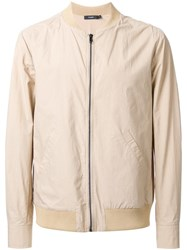 Bassike 'Compact' Bomber Jacket Brown
