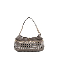 Sonia Rykiel Domino Eyelets Shoulder Bag