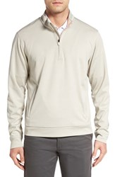 Cutter And Buck Men's 'Serene' Weathertec Quarter Zip Pullover