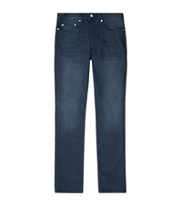 Sandro Paint Straight Jeans Male