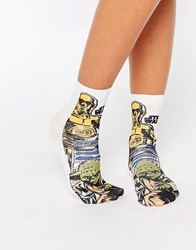 Asos Star Wars Ankle Socks Multi