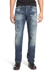 Prps Men's Big And Tall 'Barracuda' Straight Leg Jeans Indigo