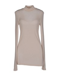 Suoli Knitwear Turtlenecks Women Beige