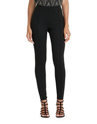 Lauren Ralph Lauren Petite Seamed Ponte Leggings Black