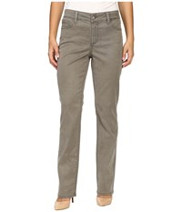 Nydj Petite Marilyn Straight Jeans In Tabbouleh Chino Twill Tabbouleh Chino Twill Women's Jeans Tan