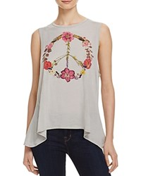 Chaser Wild Flower Peace Tank 100 Bloomingdale's Exclusive Misty