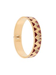 Ca And Lou 'Liya Zig Zag' Bracelet Metallic