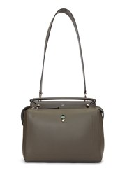 Fendi Dotcom Hand Bag Grey