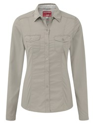 Craghoppers Nosilife Darla Long Sleeved Shirt Beige