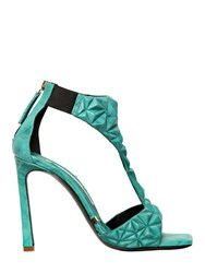 Gianmarco Lorenzi 100Mm Sculptured Leather Sandals