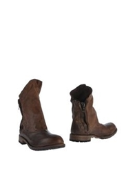 Nylo Ankle Boots Cocoa