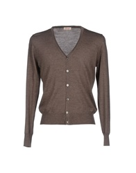 Abcm2 Cardigans Dark Brown