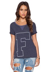 Rebel Yell X Boyfriend Tee Navy