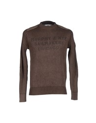 Murphy And Nye Knitwear Jumpers Men Cocoa