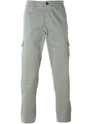 Eleventy Cargo Chino Trousers Grey