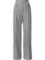 Rosie Assoulin Pleated Trousers Grey