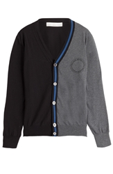 Golden Goose Two Tone Cotton Cardigan