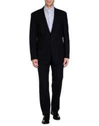 Boss Black Suits And Jackets Suits Men Dark Blue