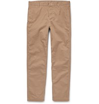 Outerknown Playa Organic Cotton Twill Trousers Neutrals