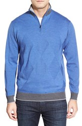 Men's Bugatchi Quarter Zip Wool Sweater