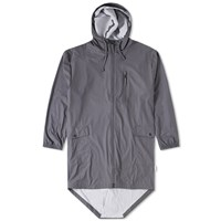 Rains Parka Coat Grey