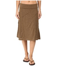 Prana Daphne Skirt Pottery Women's Skirt Brown