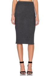 Beautiful People Midi Skirt Charcoal