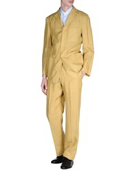 Pull Pal Zileri Suits And Jackets Suits Men Ocher