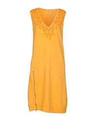 Roy Rogers Roy Roger's Dresses Short Dresses Women Yellow